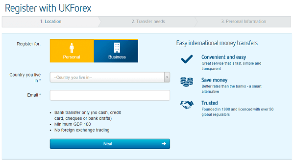 How to register forex money remittance