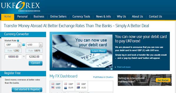 Forex uk money transfer